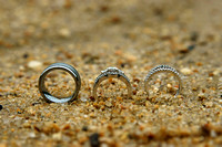 Wedding Rings at the Beach