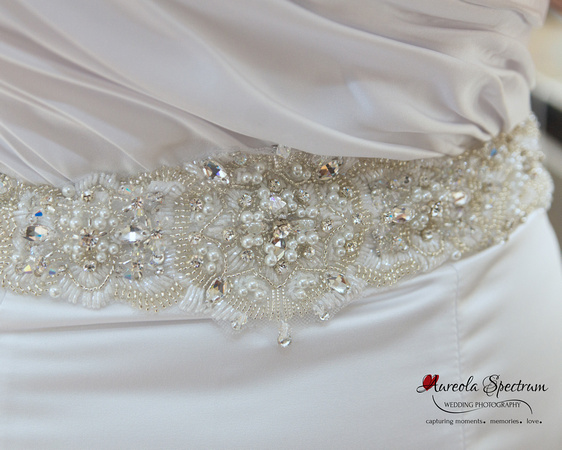 Wedding dress detail nc wedding