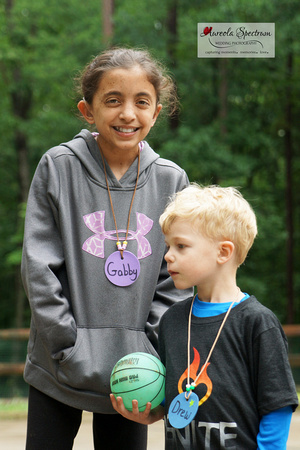 Two Heart kids at Camp Luck Family Camp 2016