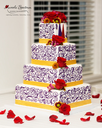 Designer wedding cake in Greensboro, NC