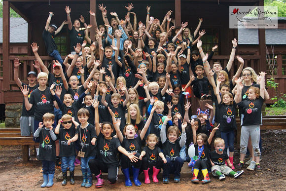 Camp Luck family camp 2016 heart kids and their siblings