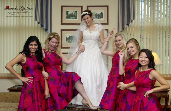 Fun Bridesmaid Photo in Greensboro, NC